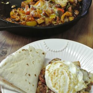 Spicy Chorizo Breakfast Hash