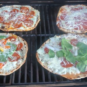 Start to Finish: Grilled Pizza
