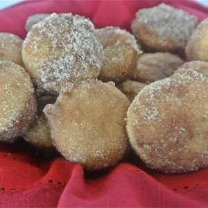 Cinnamon Sugar Donut Mini Muffins