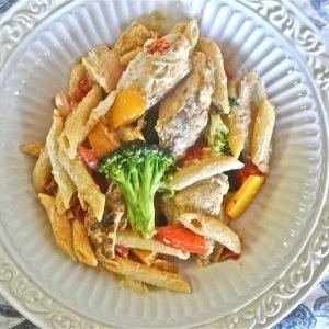 Confetti Chicken Pasta