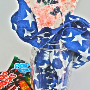 4th of July Pop Rocks Bark