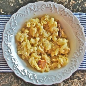 Bacon & Gouda Macaroni and Cheese