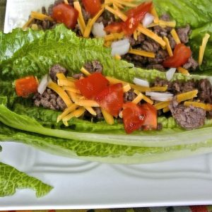 Low-Carb Taco Boats