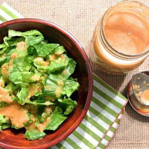 Ginger Salad Dressing {Japanese Steak House Copycat}
