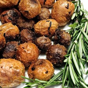 Sea Salt & Rosemary Crusted Potatoes