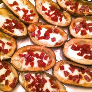 Pepperoni Pizza Skins