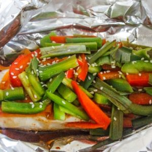 {Foil Packet} Asian Chicken & Vegetables