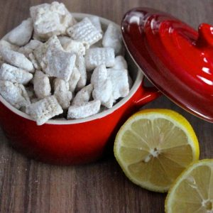 Lemon & White Chocolate Puppy Chow