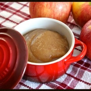 Homemade Applesauce {Crockpot}