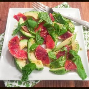 Citrus Salad with Honey-Lime Poppyseed Vinaigrette