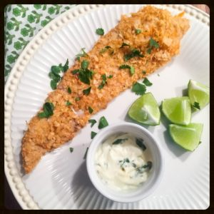 Tortilla-Crusted Fish
