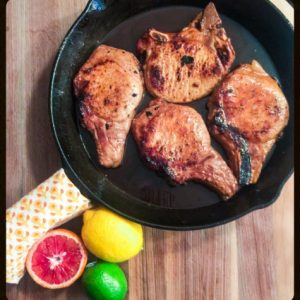Citrus-Marinated Pork Chops