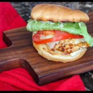 Cajun Grilled Chicken Sandwich
