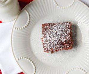 Quick Chocolate Cake (dairy-free)