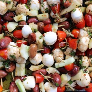 Marinated Summer Skewers