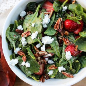 Ultimate Strawberry & Bacon Salad