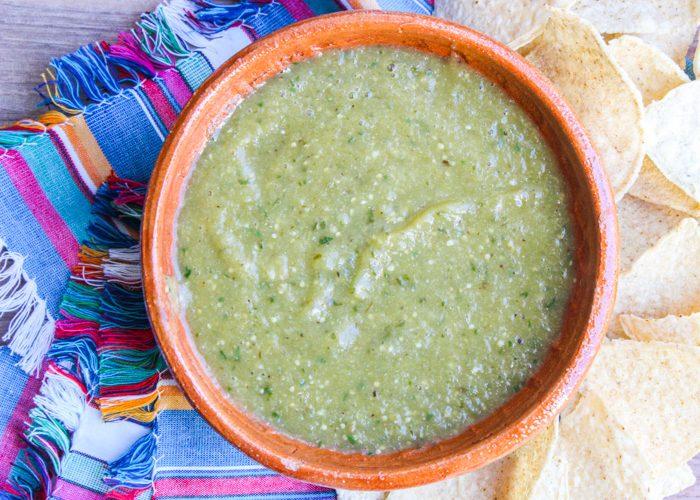 Hatch-Tomatillo Salsa Verde