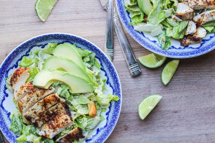 Chipotle Chicken Caesar Salad