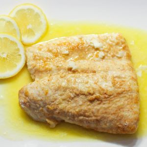 Lemon Butter Halibut