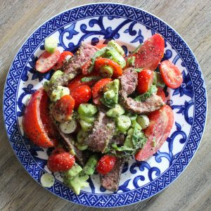 Tomato & Steak Salad