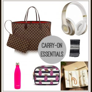 Travel Tips: Carry-On Essentials